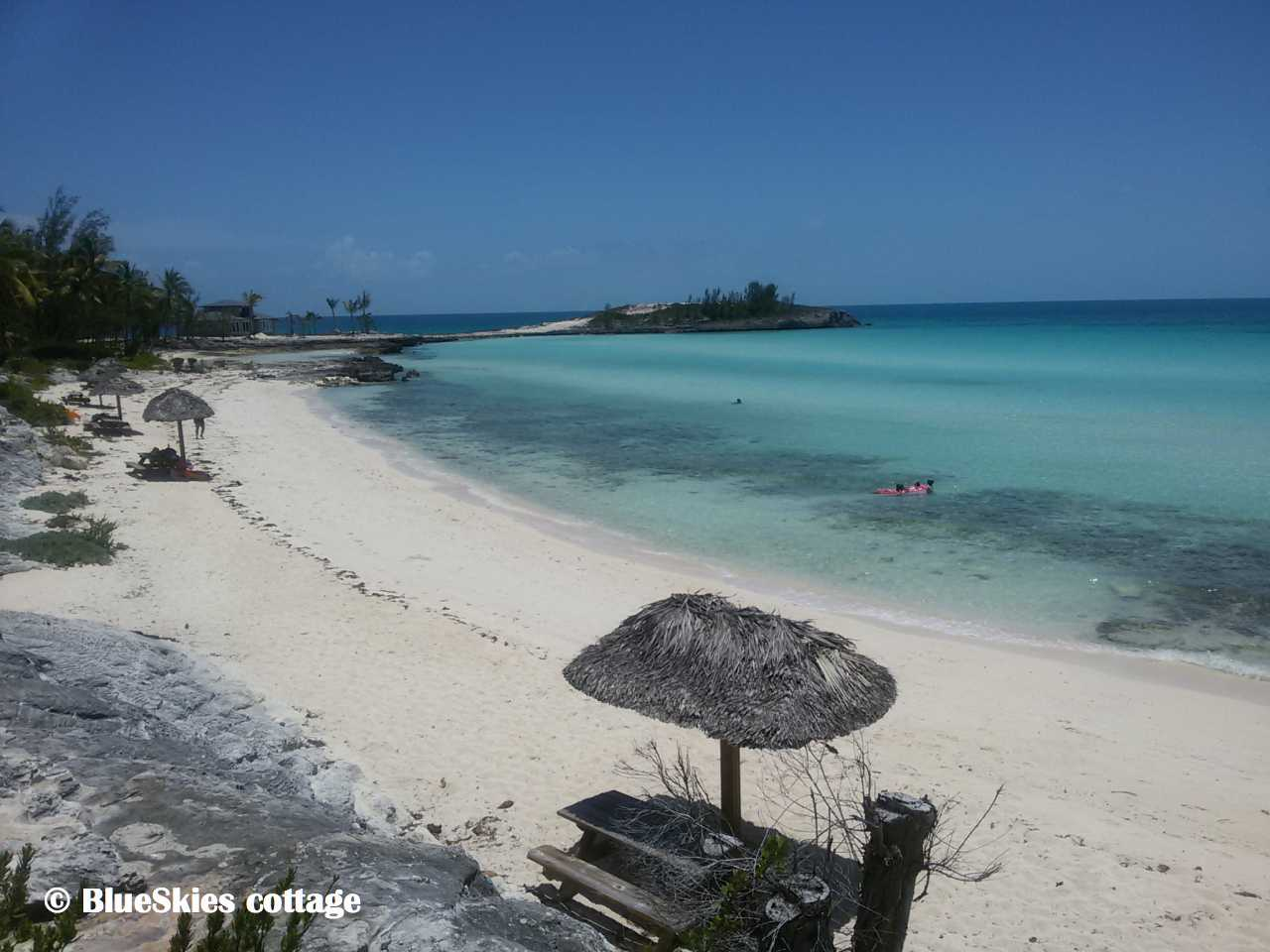 North-Central Eleuthera beaches: Rainbow Bay