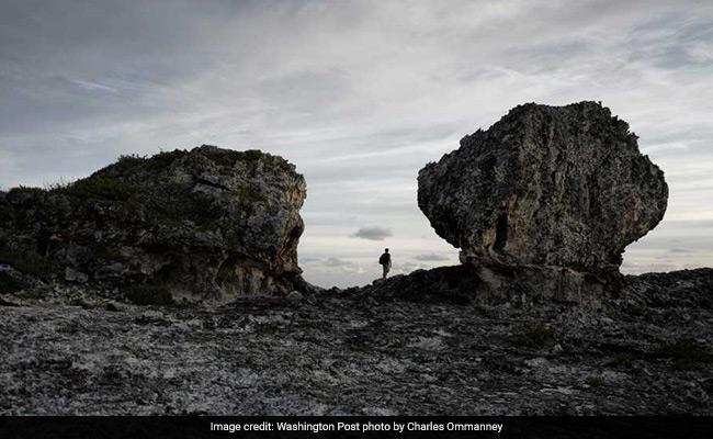 There is an Ongoing Debate on Two Mysterious Boulders In Eleuthera
